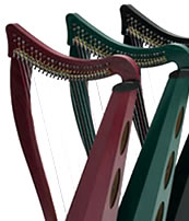 Dusty Strings Harps